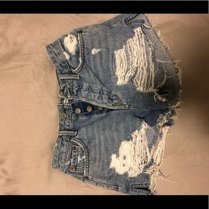 Grlfrnd denim short